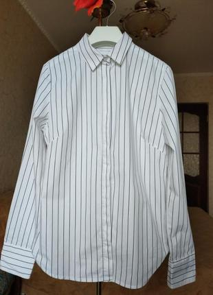 Белая рубашка база классика district