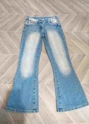 Стрейчевые, джинсы для девочки.(5158)