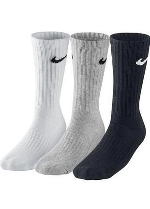 Спортивні шкарпетки nike 3ppk  sx4508-965