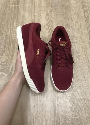 Puma 39 р 25,5 см кроссовки кросы кросівки