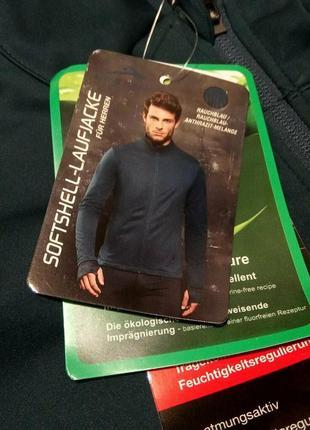 Тонка куртка вітрівка softshell active ідельно для бігу р48-50 м