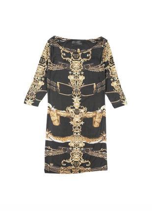 Philipp plein couture платье вискоза dwh010992
