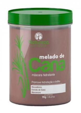 Natureza melado de cana ботокс для волос