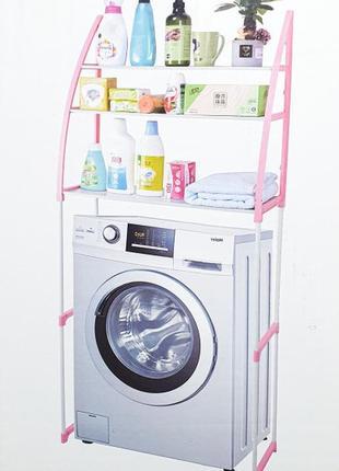 Стеллаж над стиральной машиной – напольные полки для ванной комнаты wm-63