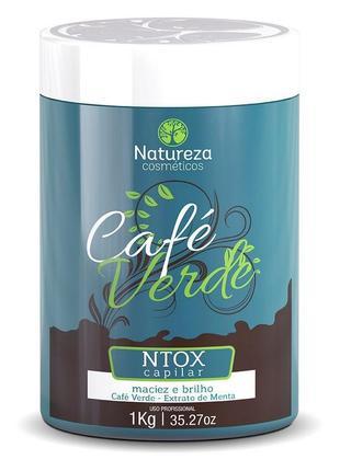 Natureza cafe verde ntox ботокс для волос