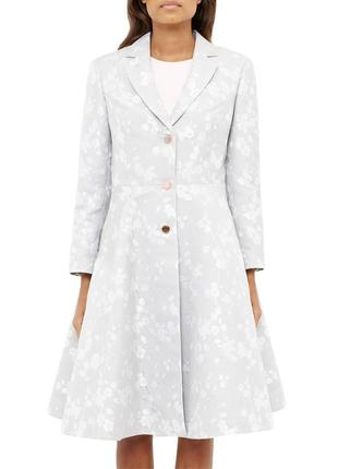 Свадебное шёлковое пальто