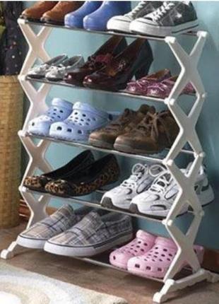 Подставка для хранения обуви utm shoe rack 5 полок