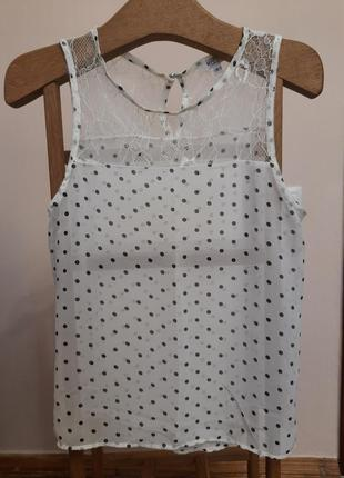 Блузка в горошок розмір  s