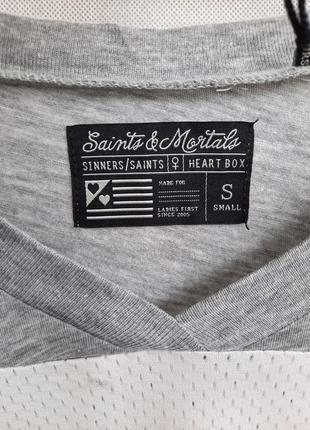 Майка футболка saints mortals3 фото