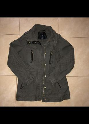 Куртка h&m камуфляж s-m