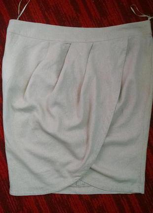 Льняная юбка e - vie