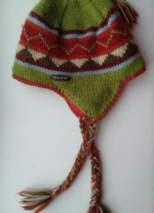 Icelander шапка шерстяная женская