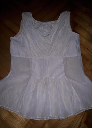 Нежнейшая шелковая блуза от jjbbenson! p.-38