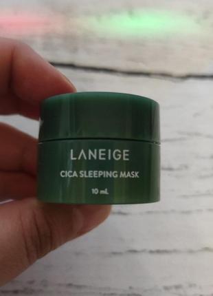 Ночная маска laneige cica sleeping mask 10мл