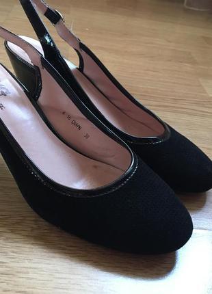 Новые туфли босоножки кожа- замша натуральные итальянские by emanuele gelmetti