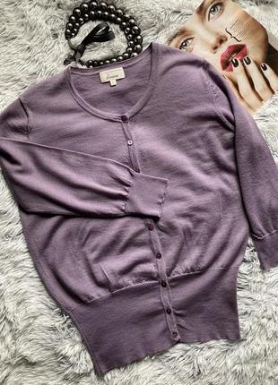 Нежный пуловер из тонкой шерсти мериноса