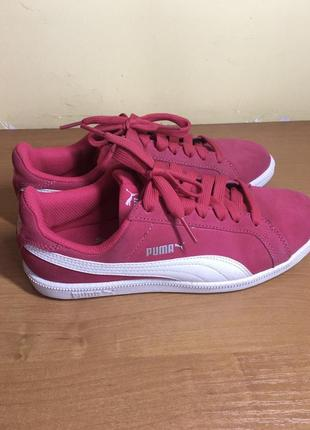 Кеды puma розовые