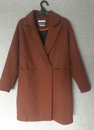 Пальто оверсайз, весеннее, осеннее, свободное reserved