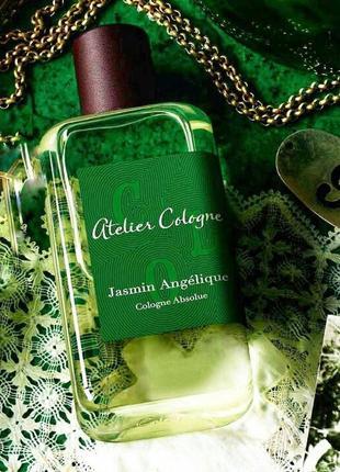 Atelier cologne jasmin angelique оригинал_cologne 3 мл затест