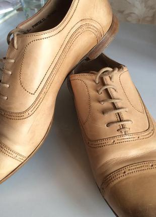 Туфли bally на низком каблуке