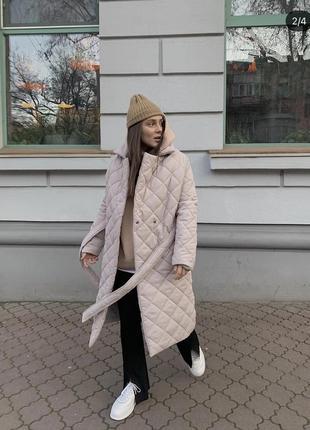 Стеганые пальто