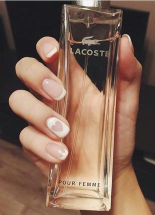 Женская парфюмированная вода lacoste pour femme 90 мл