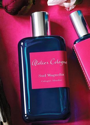 Atelier cologne sud magnolia оригинал_cologne 7 мл затест