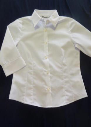Блузка школьная m&s