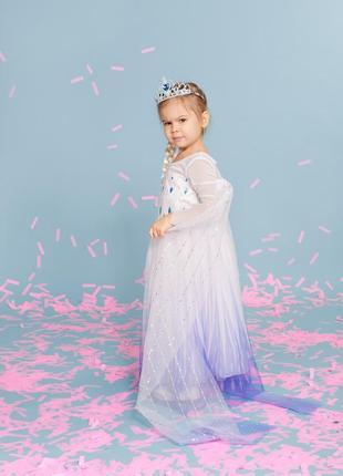 Платье костюм эльзы