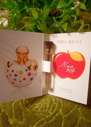 Парфюм с феромоном  nina ricci pop- 5 мл