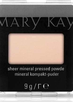 Компактная минеральная пудра mary kay