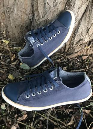 Converse alll star джинсовые стильные кеды мокасины на шнурках оригинал