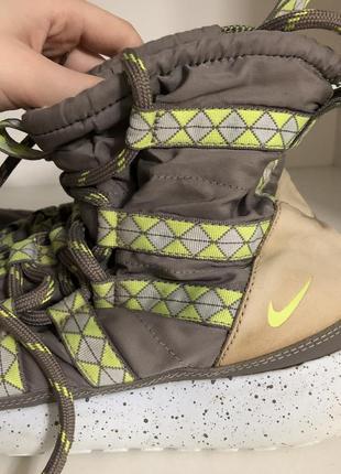 Зимние осенние кроссовки nike с мехом внутри
