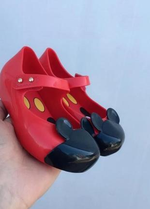 Туфли микки маус melissa