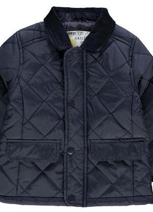 Мега стильная стеганая куртка crafted for boys (сша) на мальчика 2-3г.