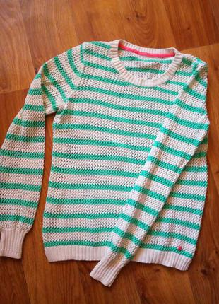 Яркий свитер/пуловер/свитшот