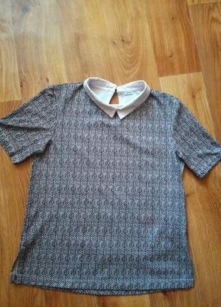 Блуза/кофта с воротником