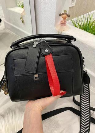 Женская сумочка на длинном ремешке,сумка, клатч с двумя ремнями