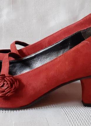 John lewis замшевые кожаные туфли. 37 р.