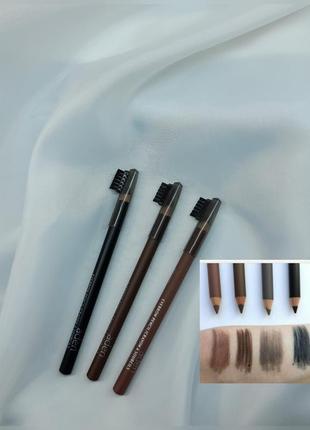 Карандаш для бровей с щеточкой aden eyebrow pencil