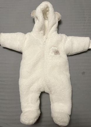 Детский маховый комбинезон teddy