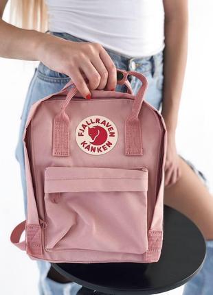 Оригинальный рюкзак fjalraven kanken mini с рефлективным лого канкен