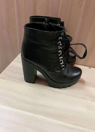 Деми ботинки,ботіночки.натур.кожа3 фото