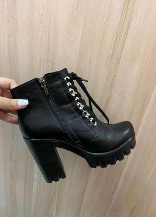 Деми ботинки,ботіночки.натур.кожа2 фото