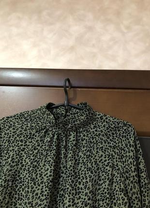 Стильная красивейшая шифоновая блуза madness р-р м/46-48 наш