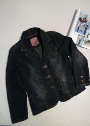 Коттоновый пиджак жакет 🤗