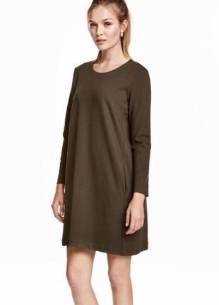 Базовое платье из плотной ткани