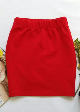 Красная юбка – mini