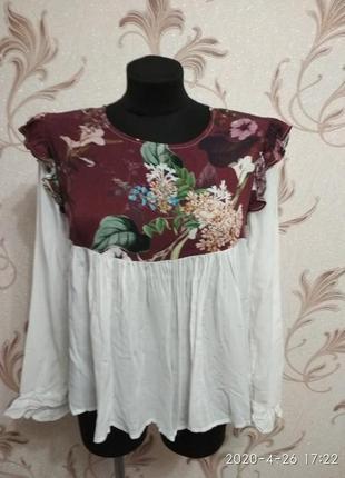 Легюсенькая блузочка италия