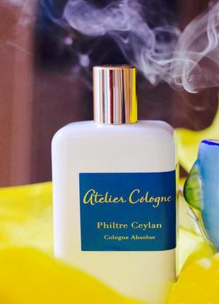 Atelier cologne philtre ceylan оригинал_cologne 5 мл затест